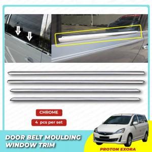Proton Exora Window Trim Chrome Lining / Door Belt Moulding