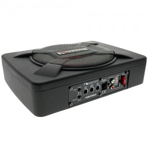 """NAKAMICHI NBF08A 8"""" ACTIVE SLIM SUBWOOFER Car Underseat woofer"""
