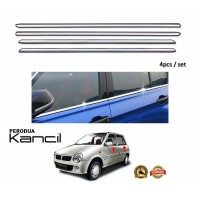 Perodua Kancil Window Trim Chrome Lining / Door Belt Moulding (4pcs)