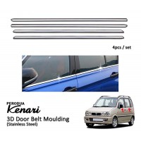 Perodua Kenari Window Trim Chrome Lining / Door Belt Moulding (4pcs)