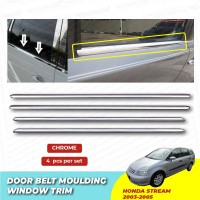 Nissan Grand Livina Window Trim Chrome Lining / Door Belt Moulding (4pcs)