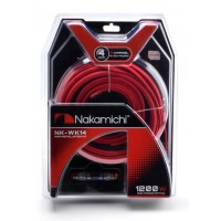 Nakamichi 4GA Wiring Kit NK-WK14 Cable Set For Amplifier 2-Channel