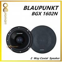 "Blaupunkt 6"" 100 Watts 4 Ohms 2 Way Coaxial Car Speakers BGX 1602 N"