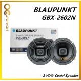 """BLAUPUNKT 6"""" Car Speaker 2 Way Coxial Speaker 4 Ohm 100Watts BGX 2602 N"""