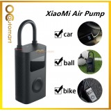 XiaoMi MiJia Electric Portable Air Pump Digital Tire Pressure Detection For Bike Motorcycle Car Scooter Ball