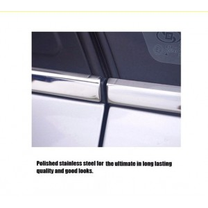 PERODUA MYVI 2012-2015 Window Trim Chrome Lining / Door Belt Moulding (4pcs)
