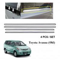 Toyota Avanza 2003-2010 Window Trim Chrome Lining / Door Belt Moulding (4pcs)
