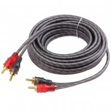 2.0M RCA Cable Car Stereo Amplifier Audio Cable