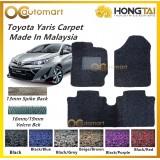 Hong Tai Toyota Yaris 2019 Pre Cut 2 Tone Colour Carpet 13mm 16mm 19mm AntiSlip Car Floor Mat Coilmat Spike Back Made In Malaysia