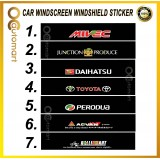 Universal Car Windscreen Sticker Front Or Rear Windscreen Windshield 10inch X 52inch