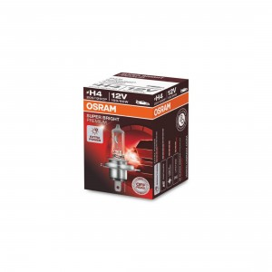 OSRAM H4 100W Headlight Bulb P43T 62204SBP 12V Super Bright Premium 200 120CP 472SBP
