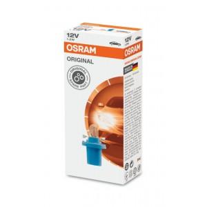Osram 2721MFX T5 Blue Socket Dashboard Meter Panel PCB Bulb (10pcs) 12V BX8.5d