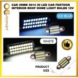 Car 36mm 3014 30 LED Car Festoon Interior Roof Dome Light Bulbs 12V 1PC