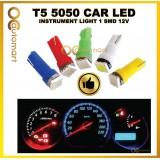 T5 5050 Car LED Instrument Light 1 SMD 12V Wedge Dashboard Warning Indicator Lamp Instrument Cluster Light 1PC