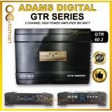 Adams Digital GTR Series 2 Channel High Power Amplifier 600 Watt - GTR 60.2