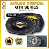 ADAMS DIGITAL GTR SERIES GCX 669 6X9 4WAY SPEAKERS