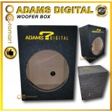 Adams Digital 12inch Woofer Box Only