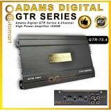 Adams Digital GTR Series GTR-75.4 4-Channel High Power Amplifier 1600W