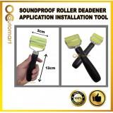 CAR SOUND DEADENER APPLICATION ROLLING WHEEL ROLLER for SOUND INSULATION / SOUNDPROOF ROLLER