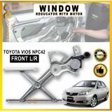 DOOR WINDOW GEAR / REGULATOR WITH MOTOR TOYOTA VIOS 2003-2006 NCP42 POWER WINDOW BRACKET WITH MOTOR