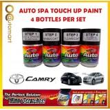 TOYOTA CAMRY Original Touch Up Paint - AUTOSPA Touch Up Combo Set (4 Bottles Per Set)