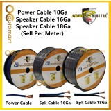 Adams Digital Audio Speaker Cable Power Cable Wire Cable Speaker Wire ( Sell Per Meter )