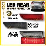 Proton Persona 2005-2015 Led Rear Bumper Reflector Red, Smoke, White ( 2pcs/set )