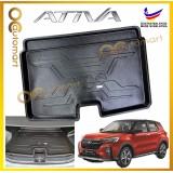 Perodua Ativa Original HDPE Material Non Slip Rear Trunk Boot Cargo Tray Boot Tray ( Made In Malaysia )