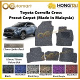 Hong Tai 2 Tone Colour Carpet For Toyota Corolla Cross 13 / 16 / 19mm Car Floor Mat Coilmat Velcro Spike Back Made In Malaysia