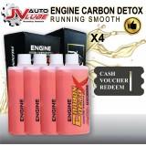 ( Cash Voucher Redeem ) 4 Bottle JV Auto Lube - Engine Carbon Detox Running Smooth Original
