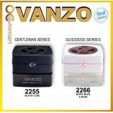 100% ORIGINAL VANZO NEW Generation Healthy Car Air Freshener Car Perfume Gentleman Series 2255 / Goddess Series 2266