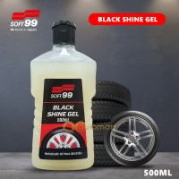 Soft 99 Tyre Black Shine Gel Tyre Polish 500ml