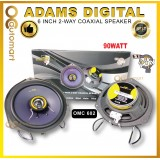 "Adams Digital 6""Inch 2-Way Coaxial Plug & Play Speaker Myvi Lagi Best / Myvi Old / Myvi Icon OMC-602"