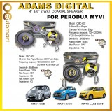 "Adams Digital Plug N Play Perodua Myvi Lagi Best / Icon OEM Speaker 4""2 way and 6"" 2 way Car Coxial Speaker"