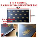 (1pc) 3 M 3 in 1 Material Sound Proof Sponge Foam Insulation Hood Deadening Anti Noise (82 CM x 46 CM)