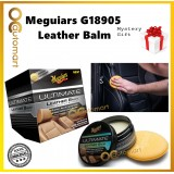 ( Free Gift ) Meguiar's G18905 Ultimate Leather Balm 160g Meguiars Leather Cleaner , Condition & Protects