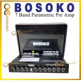 Bosoko 7 Band Car Audio Parametric Pre Amp With Subwoofer Output Preamp Amplifier Equalizer
