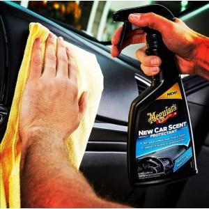 ( Free Gift ) Meguiars G4216 New Car Scent Protectant 473ml Meguiar's Interior Plastic Rubber Restore