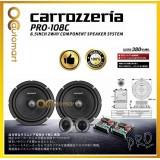 "Carrozzeria Pro Series PRO-108C 6.5"" Inch 2-Way Component Speaker System Tweeter"