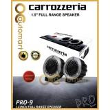 """Carrozzeria PRO Series PRO-9 1.5"""" Side BAss Full Range Speaker Tweeter 200 Watts"""