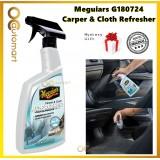 Meguiars G180724 Carpet and Cloth Re-Fresher 709ml Odor Eliminator Spray Fresh New Car Smell Meguiar's Carpet and Cloth Cleaner Refresher