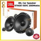 JBL STAGE1 601C 6.5 inch 2 Way Component Set Car Speaker Audio Spk Spiker Kereta