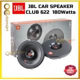 JBL Club 622 Car Speaker 6.5 inch 2 Way Coaxial Spk Club Series 180 Watts JBL Spiker Kereta