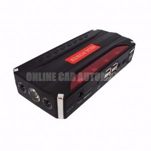 High power Booster(68800mAh Power Bank Car Jump Start Emergency Light- Red LED