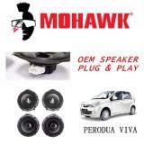 MOHAWK Plug & Play OEM Speaker For Perodua Viva - Front & Rear