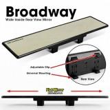 300mm NAPOLEX Broadway Flat Wide Car Rear View Mirror