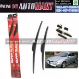 ALFA ROMEO 156 (932) Yr2005- ORIGINAL KW Super High Quality Silicone Hybrid Wiper-With Multifunction Clip-1 Pair (Made in Germany)-21 inch & 22 inch